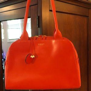 Radley London Handbag in Burnt Orange